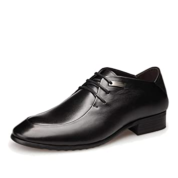 6947157c7cffe Amazon.com: Mens Oxford Shoes Lace Up Pointed Toe Non-Slip Business ...