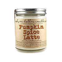 Pumpkin Spice Latte Candle 8oz Scented Soy | Hand poured 100% Soy Wax Made in Tennessee, USA