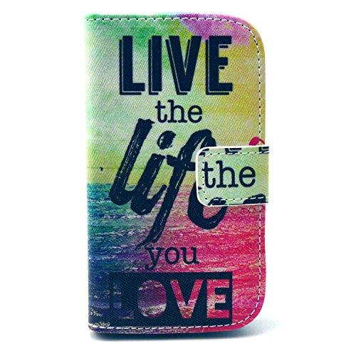 For Samsung Galaxy S3 Mini i8190 Case, IVY