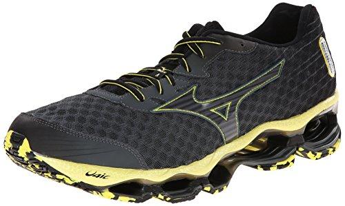 Mizuno Men's Wave Prophecy 4 Running Shoe,Bolt/Black,8 D US