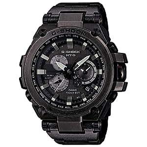 Casio - G-Shock - MT-G Series - Tough Solar Powered Dual World Time Analog Steel Watch - MTGS1000V-1A