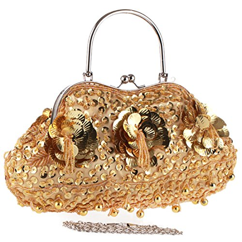 SSMK Evening Bag - Cartera de mano para mujer plata