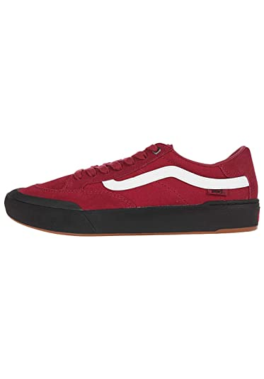 66bc928536 Vans Off The Wall Berle Pro Sneakers (Rumba Red) Men s Skateboarding Shoes