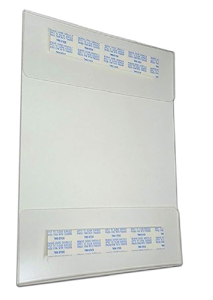 Tag Plastics - Pack de 12 soportes para carteles de pared de ...