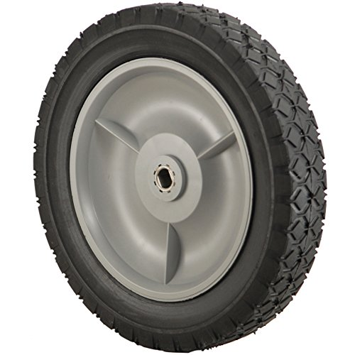 Rotary 8932 Plastic Wheel with Rubber Tread (Rubber Rear Wheels)