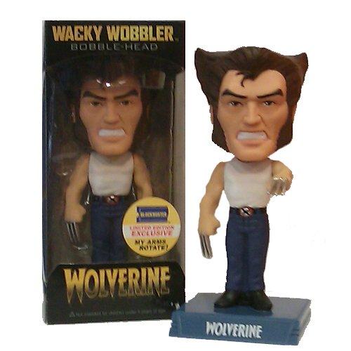Block Buster Exclusive Blue Jeans Wolverine Wacky Wobbler ()