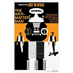Lost In Space The AntiMatter Man by Juan Ortiz Art Print Poster 12x18