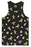 Eleven Paris The Simpsons Krusty The Clown Tank TOP Mens Black