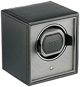 WOLF 455203 Cub Single Watch Winder, Black