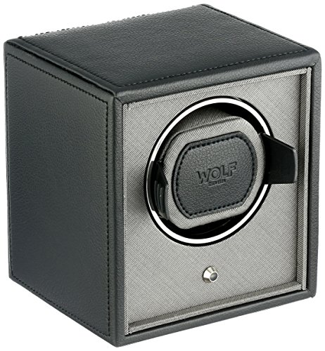 WOLF 455203 Cub Single Watch Winder, Black by WOLF