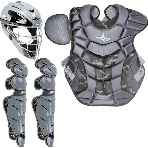 All Star System Seven Adult Camo Pro Catcher's Kit