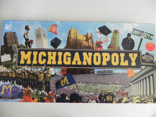(Michiganopoly - University of Michigan Monopoly Game)
