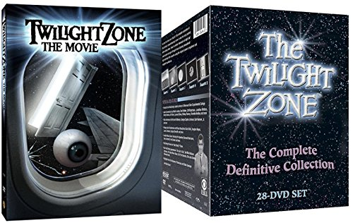 The Twilight Zone: The Complete Definitive Collection DVD TV Series & Twilight Zone: The Movie (Tower Of Terror Halloween Time)