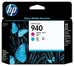 HP 940 - Cabezal de impresión Original HP 940 Magenta y Cian para HP OfficeJet Pro 8000, 8500 series, 8500A, 8500A Plus