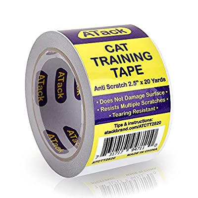 Cat scratching ATack Cat Anti-Scratch Training Tape, Residue-Free and Removable,... [tag]