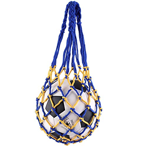 Dedicated 5pcs Nylon Net Bag Ball Carrier For 1 Volleyball Basketball Football Soccer Sufficient Supply Office & School Supplies