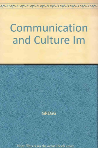 Communication and Culture Im
