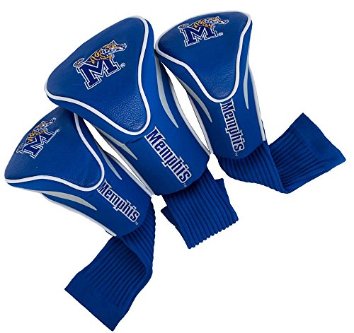 Golf 3 Headcovers Pack (Team Golf NCAA Golf Headcovers, Memphis (Pack of 3))