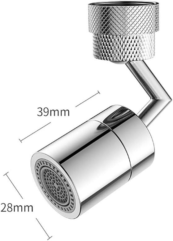 robinet de sortie deau de robinet /à barboteur T/ête da/érateur Robinet rotatif universel anti-/éclaboussures Robinet de filtre anti-/éclaboussures universel Robinet de sortie deau rotatif /à 720 /°