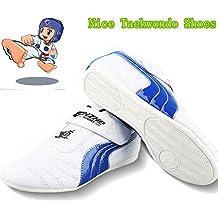 B.E.S.T Unisex Taekwondo Trainning Shoes Children TKD Shoes Kung Fu Shoes Karate Tai Chi Martial Arts Shoes TKD Trainning Shoes Children Taekwondo Shoes(Size Chart in Last Photo)