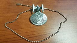 Star Trek Next Generation Enterprise Ship Ceiling Fan Pull Chain Antique Silver