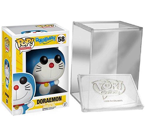 Funko Pop: Animation: Doraemon – Doraemon Vinyl Figure + FUNKO PROTECTIVE CASE