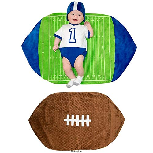 Princess Paradise Swaddle Wings Baby Costume, Football, 0 to 3 Months