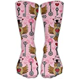 Search : Crew Socks Steampunk Valentine's Day Pattern Unique Sock For Men & Women One Size