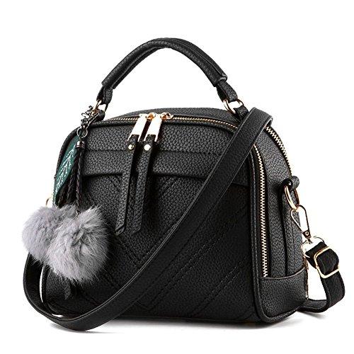 Damen Handtasche Klein Umhängetasche Schultertaschen Leder Taschen Henkeltasche Shopper