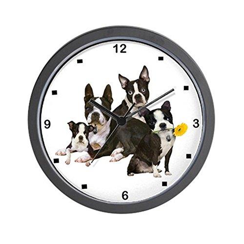CafePress - Boston Terrier Just One Wall Clock - Unique Decorative 10