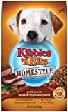 Kibbles n Bits Homestyle Grilled Beef Steak and Vegetable Flavor, 4-Pounds (Pack of 3), My Pet Supplies