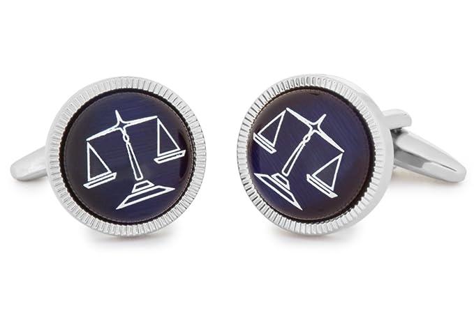 bouton de manchette justice