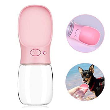 Amazon.com: LIZONGFQ - Botella de agua portátil para perro ...