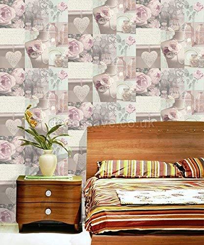 Charlotte Papel Pintado Arthouse Color Rosa