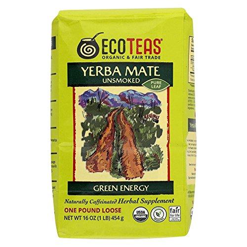 ECOTEAS Organic Unsmoked Yerba Loose product image