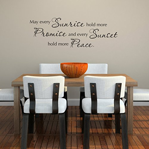 peace quote wall decal - 7