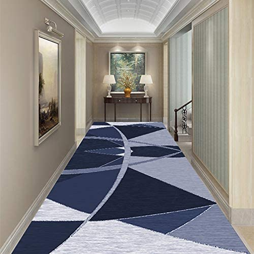 Xudongliu Narrow Rug Runway Carpet Non-Slip Bedside Blanket Rectangle Stair mat 3D Hotel Corridor Carpet Guesthouse Aisle Home Doorway Entrance Carpet (Color : D Size : 80200cm)