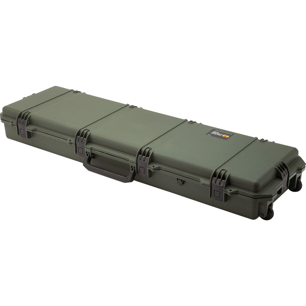 Estuche : Pelican 3300 P/ Rifle Sumergible Con Espuma Verde