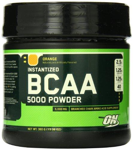 Optimum Nutrition Instantized BCAA Powder, Orange, 5000 мг, 380 грамм