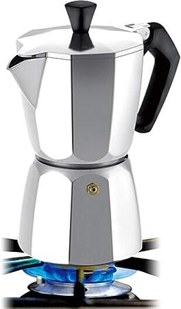 Cafetera Espresso Hechos a Mano cafetera Moka Cafetera doméstica Haciendo Manual Máquina de café del café Appliance (Color : Plata, tamaño : 9 Cup): Amazon.es: Hogar