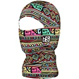 BLACKSTRAP Kids The Hood Dual Layer Cold Weather Neck Gaiter and Warmer for Children, Tribe Disco
