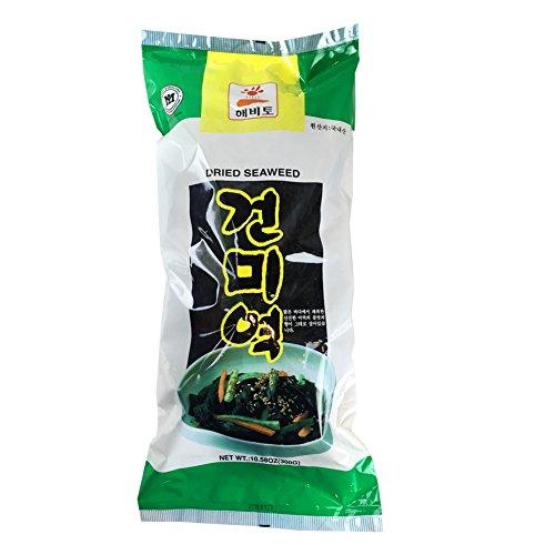 LARGE AMOUNT Korean Dried Seaweed [ 300g - 10.58oz ] Sea Mustard for Soup and Salad 미역 ()