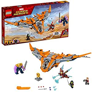 LEGO Marvel Super Heroes Avengers: Infinity War Thanos: Ultimate Battle 76107 Playset Toy