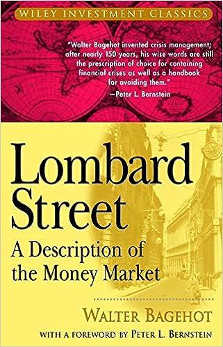 lombard street walter bagehot