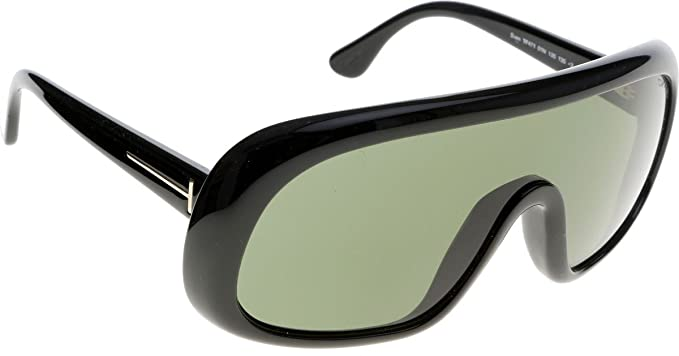 Gafas de sol Tom Ford FT0471 C00 01N (shiny black / green ...