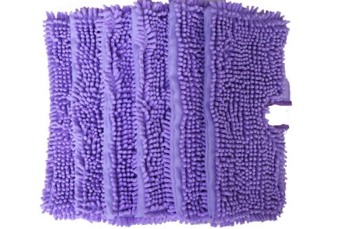 Generic Replacement Duster Pads Apt for Shark Pocket Steam Mop S3501 (Pack of 6) (Purple)