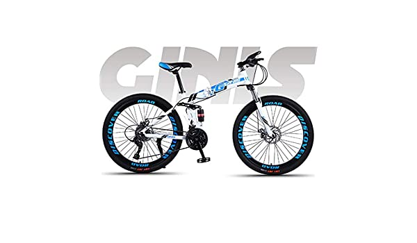 AISHFP Soft Tail Bicicleta Plegable de la montaña, Estudiante ...