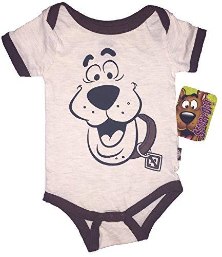 Scooby-Doo! Baby Boy Costume - Jumpsuit - Bodysuit - Onesie (6-9 Months, Scooby (Baby Incredible Hulk Costume)