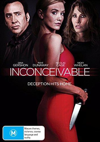 - Inconceivable | Nicolas Cage, Faye Dunaway, Gina Gershon | NON-USA Format | PAL | Region 4 Import - Australia