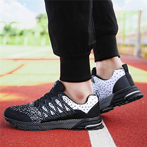 SOLLOMENSI Chaussures de Sport Running Basket Homme Femme Course Trail Entraînement Fitness Tennis Respirantes 4